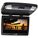 "Audiovox AVXMTG13UA 13.3"" Over Head Flipdown LED Backilt LCD Monitor w/ Built-in DVD Player and Interchangeable Skins"