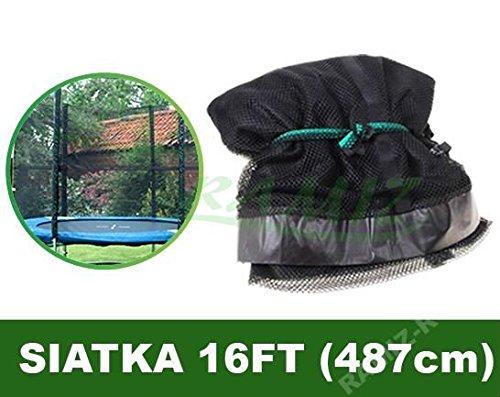 Gitter für Trampoline 16FT Schwarz
