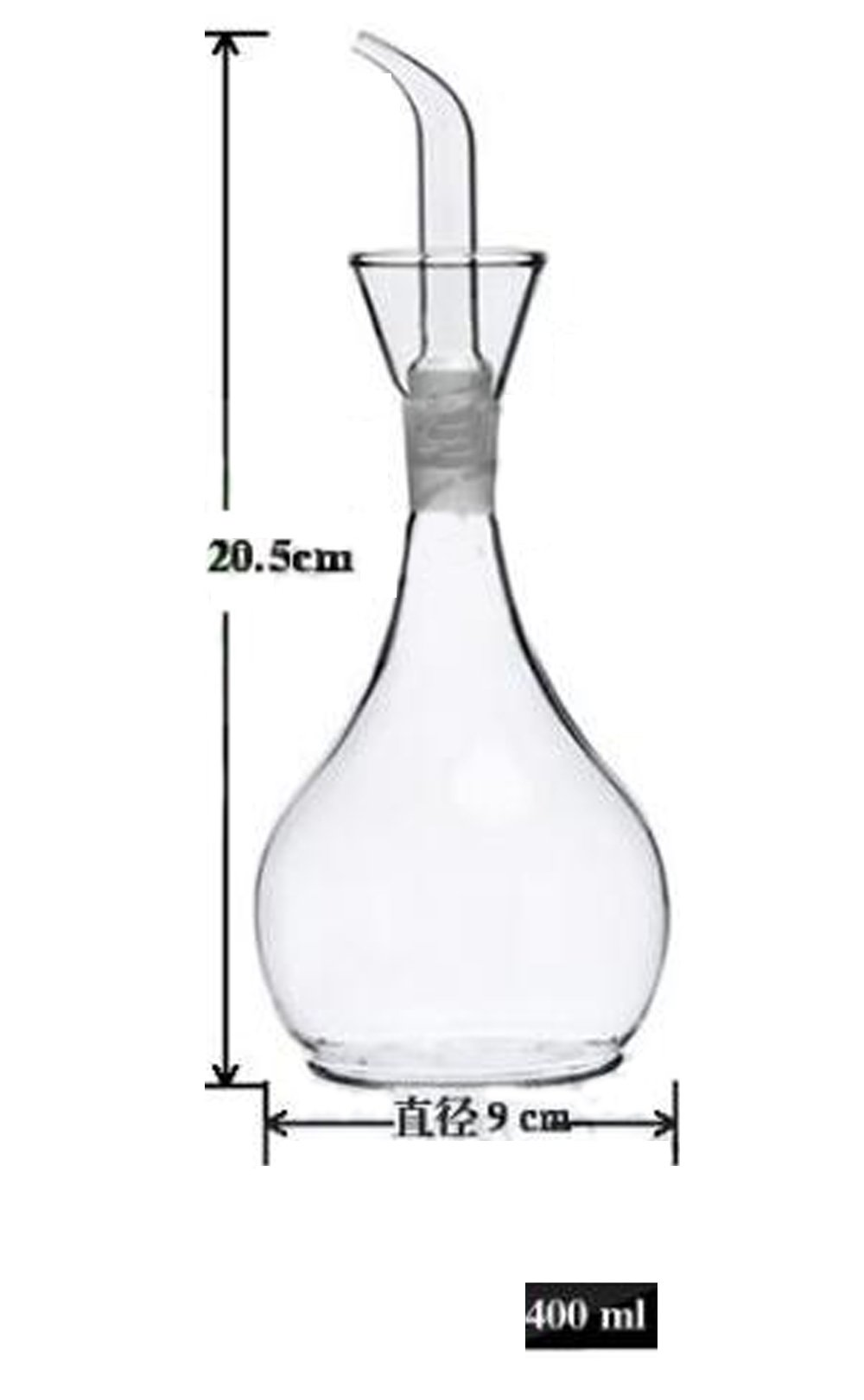 Eleton's Planet Glass Oil Decanter and Cruet 14 Ounces by ELETON (Image #6)