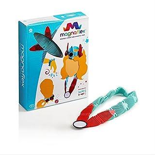 WowWee Magnaflex - Wearables Set (14 Pieces) - Flexible Magnetic Construction Kit