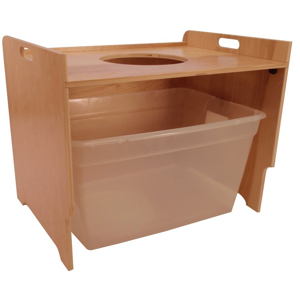 cat litter box furniture diy. Amazon.com : Top Entry Litter Box Cover (birch, Unfinished) Pet Supplies Cat Furniture Diy R