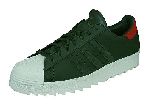 adidas Superstar 80S TR, Zapatillas de Deporte Unisex Adulto, Verde Carnoc/Casbla,