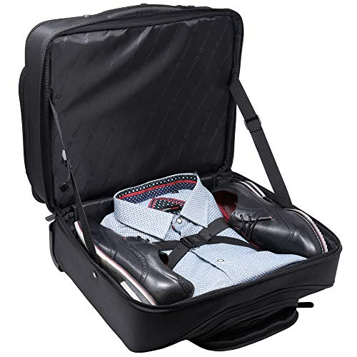 Alpine Swiss Rolling Laptop Briefcase Wheeled Overnight Carry on Bag Up to 15.6 Inches Notebook - Carries Legal Size Files by alpine swiss (Image #8)