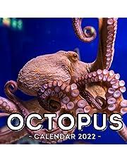 Octopus Calendar 2022: 16-Month Calendar, Cute Gift Idea For Octopus Lovers Women & Men