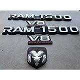 00-01 Dodge Ram 1500 V8 Magnum Hood 55295240 Logo Side door 55295310 Emblem 55076570 Decorative orna