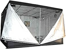 120x120x78in10x10x65ft xlarge non toxic 600d mylar reflective grow tent hydroponic dark room box hut - Basement Grow Room Design