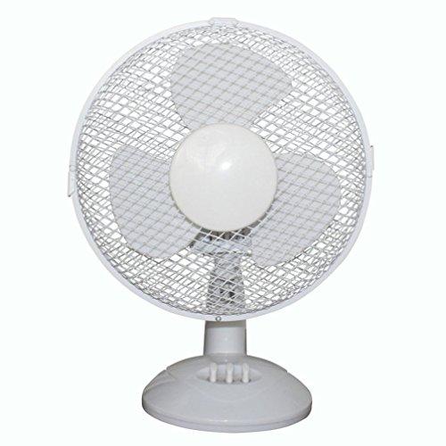 Yezijin Fan, Electrical 3-Speed Oscillating Desk Top Fan, 6/
