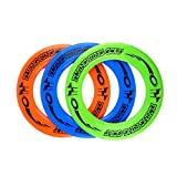AITING Best Kid's Frisbee Rings Super Cool Toys for Boys & Girls - Fun Birthday Presents & Party Gifts - Play Ultimate Indoor & Outdoor Games at School Gym, Park, Back Yard & Beach