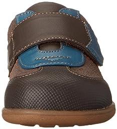See Kai Run Kanoa Sneaker (Infant/Toddler/Big Kid) , Brown, 3 M US Infant