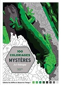 100 Coloriages mystères: Art-thérapie par Jeremy Mariez
