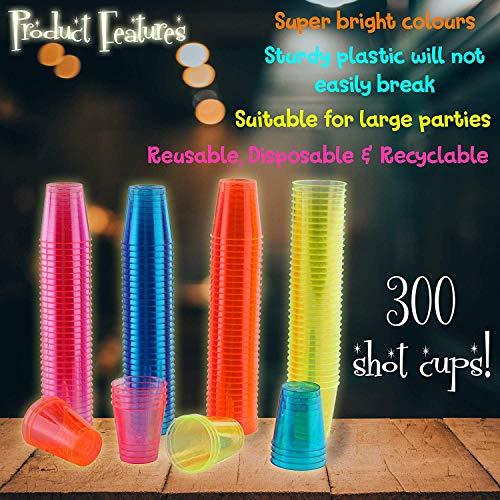 Buy shots glasses plastic