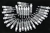 Jello Shot Syringes, Medium (up to 2oz), The Original JeloShots Gelatin Jello Shot Syringes with Easy-Grip Caps, Reusable (96, Clear)