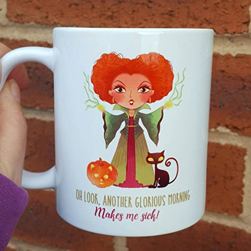 Disney Hocus Pocus Costumes (Hocus Pocus themed mug another glorious morning Halloween trick or treat 11oz, 15oz, gift, tea cup, coffee mug)