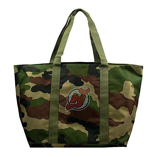 - New Jersey Devils NHL Camo Tote