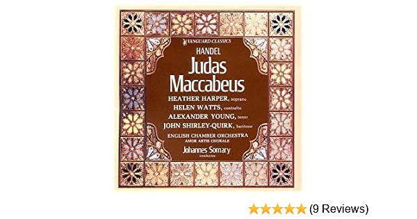 - Judas Maccabeus by Handel - Amazon.com Music