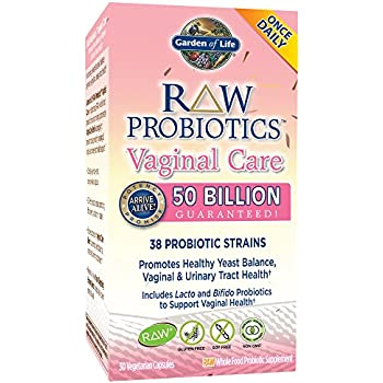 Garden Of Life Raw Probiotics Women 39 S Vaginal Care Acidophilus Probiotic