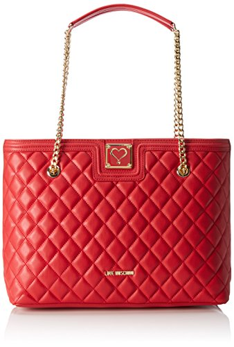 Love Moschino Jc4012, Tote Donna, 15x28x41 cm (B x H x T) Rosso (Red)