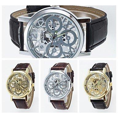 2016 nueva llegada imitación anlog mecánica reloj de pulsera unisex estilo reloj de pulsera de moda