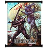 """Final Fantasy IV Game Fabric Wall Scroll Poster (16""""x24"""") Inches"""