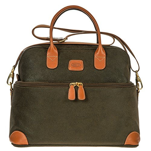Bric's Life Tuscan Train Bag Cosmetics Case, Olive by Bric's