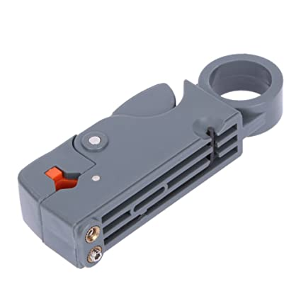 Multifunction Rotary Coaxial Cable RG58 Stripper Cutter Tool for RG-58/59/62