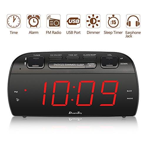 Buy clock radio alarm
