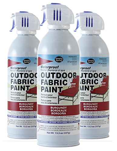 Deval Products Of0046007m Outdoor Spray Fabric Paint 13 3 Oz