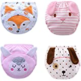 Toddler Baby Girl Boy Pee Potty Training Pants Cute Diaper Nappy Packs