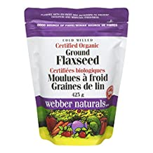 Webber Naturals Cold Milled Certified Organic Ground Flaxseed