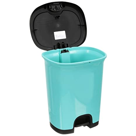 Amazon.com: Slim Trash Can 27 Liter Kitchen Waste Basket ...