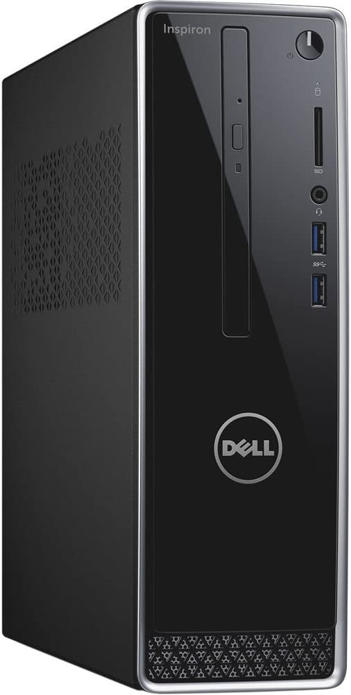 Dell Inspiron 3250 Small Desktop (Intel Core i3-6100, 4 GB RAM, 1 TB 7200 rpm Hard Drive, Windows 10 Home), Black