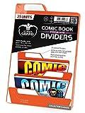 Ultimate Guard Premium Comic Dividers Card Sleeves (25 Piece), Orange