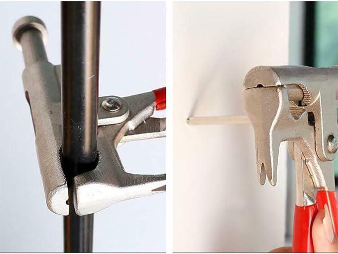 Tonquu Outil de rivet pour perceuse /électrique Outil de tournevis /électrique Adaptateur de perceuse pour riveter sans c/âble Ins/érez loutil d/écrou