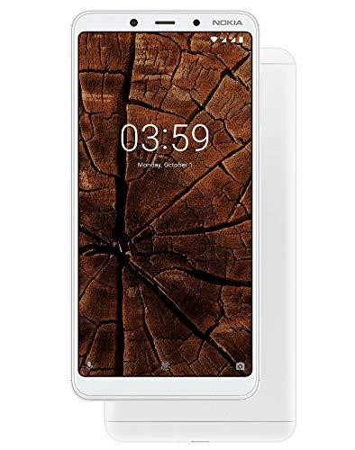 new styles 05bd3 8af4b Nokia 3.1 Plus (White, 3GB RAM, 32GB Storage)