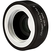 Zhongyi Mitakon Lens Turbo II M42-M43 Focal Reducer Booster Adapter with Portable Case for M42 Lens to Olympus Panasonic Cameras
