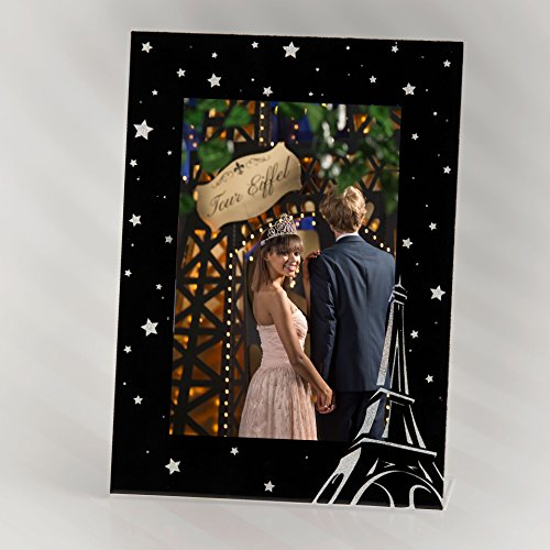 Stumps Paris Eiffel Tower Glitter Frame