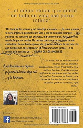 ME DIJO QUE ME AMABA: ...el mejor chiste que contó en toda su vida ese perro infeliz. (Spanish Edition): Daryana Rivera: 9781980379997: Amazon.com: Books