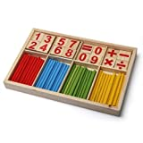 Dimart Math Manipulatives Wooden Counting Sticks Kids Preschool Educational Toys On Sale