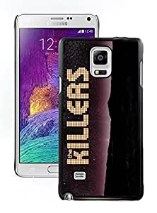 Fashionable Skin Case For Samsung Galaxy Note 4 N910A N910T N910P N910V N910R4 With The Killers Samsung Galaxy note 4 black 413