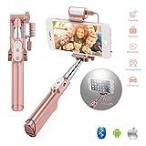 Best Selfie Handhelds - GEANOV Bluetooth Mini Selfie Stick - Handheld Extendable Review