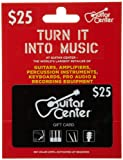 Guitar Center Gift Card $25