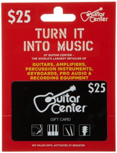 Guitar Center Gift Card $25