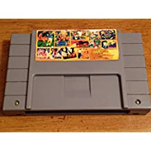 ULTRA RARE, CLEANED SNES Super Combination 12 in 1 Game-International Superstar Soccer Deluxe + Others