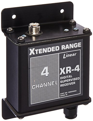 4 Openers (Linear XR-4 4-Channel Mid-Range Receiver, Black)