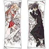 CoolChange taie d'oreiller à embrasser de Sword Art Online, pour oreiller Dakimakura 150x50, motif de Asuna & Kazuto
