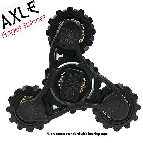 original axle fidget spinner by destroyer brands w caps. Black Bedroom Furniture Sets. Home Design Ideas