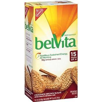 Belvita Cinnamon Brown Sugar Breakfast Biscuits (15 Pk. 4 Ct.) - SCS