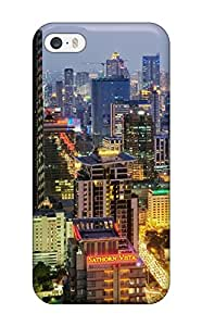 1305084K39957588 Iphone High Quality Tpu Case/ Thailand Bangkok Wallpapers Case Cover For Iphone 5/5s