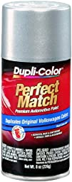 Dupli-Color (BVW2039-6 PK) Reflex Silver Metallic Volkswagen Perfect Match Automotive Paint - 8 oz. Aerosol, (Case of 6)