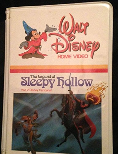 Legend of Sleepy Hollow (1958) Bing Crosby plus 2 Classic Disney Cartoons (Sleepy Hollow Kids Movie)
